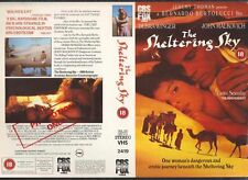 The Sheltering Sky, Debra Winger VHS Video Promo Sample Sleeve/Cover #8815