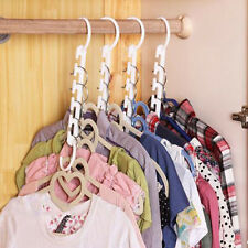 Space Saver Saving Wonder Magic Hanger Clothes Closet Organize Hook