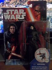"Star Wars The Force Awakens TFA Kylo Ren Unmasked 3.75 ""BRAND NEW"" VHTF"