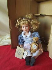 Boyds Yesterday's Child Doll & bear Andrea #4822