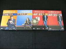 24  DVD Dr. HOUSE Staffel 1+2+3  Deutsch / English / Französisch