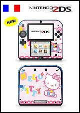 SKIN STICKER AUTOCOLLANT DECO POUR NINTENDO 2DS REF 69 KITTY