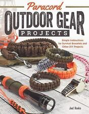 Paracord Outdoor Gear Projets : Simple Instructions for Survival Bracelets...