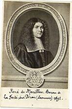 CPA  René de Marillac, Baron de La Ferté-sur-Péron (Laonnois) 1691    (202118)
