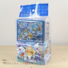 Pokemon Center Sapporo Snow Festival Card Deck Case + 64 sleeves Alola Vulpix