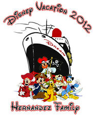 2016 Disney Cruise Dream Family Vacation T shirt Personalized Holidays Gift