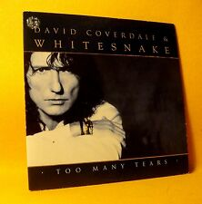 Cardsleeve Single CD David Coverdale & Whitesnake Too Many Tears 2TR 1997 Rock