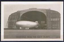 Postkarte USA Orginal Foto eines US-Zeppelins sehr gute Erhaltung ungelaufen