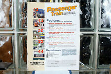 Passenger Train Journal Mag Vol 33 No 4 (2010-4) Issue 245 Missing Front Cover