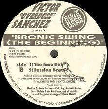 VICTOR OVERDOSE SANCHEZ - Kronic Swing (The Beginning) - kult hardware