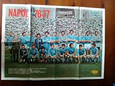 Q31 Poster Foto Squadra Napoli '76 - 77  Mis. 40 x 55 cm.
