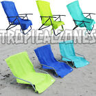 Lounge Lizard Quick Dry Sand Chair Covers 3 Colors Teal Green Blue Beach Hotel