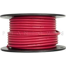 George L's .255 Bulk Instrument Guitar/Bass Cable Wire By-the-Foot 1ft - RED