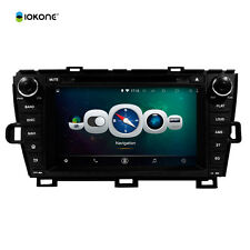 "Toyota Prius 2009-2013 8"" Android 4.4 Quad-Core Car DVD Player Radio GPS 3G Wifi"