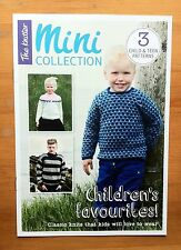 The Knitter - children's favourites- 3 knitting patterns - jumpers & cardigan