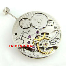 17 Jewels 6498 Hand winding Mechanical Movement Second at 6 o'clock