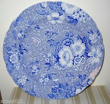"THE SPODE BLUE ROOM COLLECTION PLATE PRIMULA  9"" MINT"