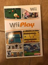 Nintendo Wii WII PLAY Complete Party Game