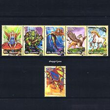 2011 - Australia - Mythical Creatures - set of 6 - MNH