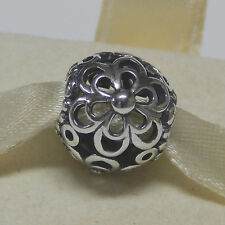 New Authentic Pandora Charm 790965 Picking Daisies Bead Box Included