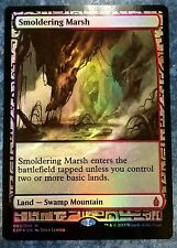 FOIL smoldering Marsh-Zendikar Expeditions-inglese (N-MINT +) FULL ART