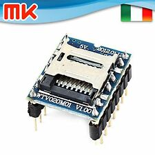 AM841 - Modulo MP3 WAV player microSD WTV020SD audio musica WTV020-SD Arduino