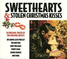 SWEETHEARTS & STOLEN CHRISTMAS KISSES - 2 CD BOX SET - BRENDA LEE & MORE