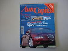 AUTOCAPITAL 5/1993 BUGATTI EB 112/MERCEDES CLASSE C/FORD MUSTANG/FIAT UNO TURBO