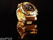 Invicta Men's Coalition Force Swiss Intrinsic Ana/Digi 18K GP SS Bracelet Watch!