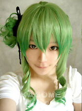Vocaloid Megpoid Gumi Camellia Green Gradient Color Cosplay Wig