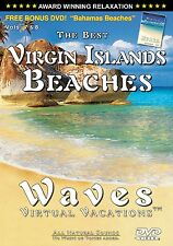 VIRGIN ISLANDS BEACHES + BAHAMAS BEACHES Side 2 / Waves Virtual Vacations DVD