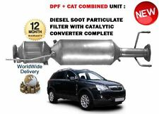 FOR VAUXHALL OPEL ANTARA 2.0 CDTI 2006-  DPF DIESEL PARTICULATE FILTER + CAT