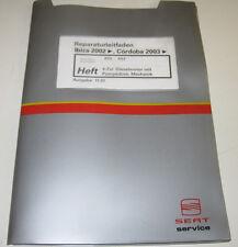 Werkstatthandbuch Seat Ibiza Cordoba 4 Zylinder Diesel Motor Pumpedüse ab 2002!