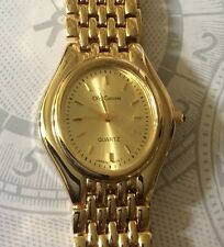 Oleg Cassini Gold Women's Watch Gold Oval Dial High Quality Brand New in Box!
