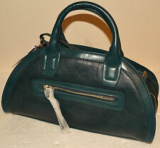 LADIES M&S LIMITED EDITION FAUX LEATHER HAND / SHOULDER BAG TEAL BNWT