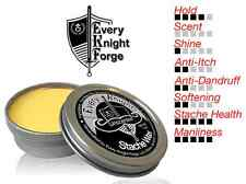 Every Knight Stache Wax, All-Natural Mustache Grooming: Unscented, Made in USA
