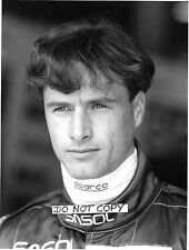 Eddie Irvine Original B&W Diana Burnett Period Press Jordan Portrait 1994