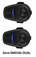 Sena 10S Bluetooth Motorcycle Intercom Dual Headset New 2017 Next Day Delivery