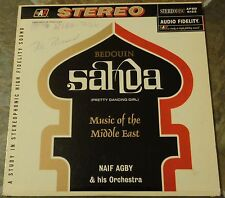 "Album By Naif Agby, ""Bedouin Sahda (Pretty Dancing Girl)"" on Audio Fidelity"