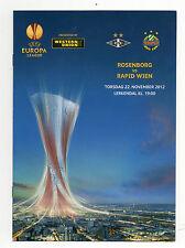 Orig.PRG     Europa League  2012/13   ROSENBORG BK - RAPID WIEN  !!  SELTEN