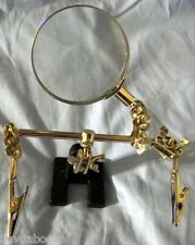 Helping Hand w/Magnifying Glass Clamps for Hobby & Jewelers Tools