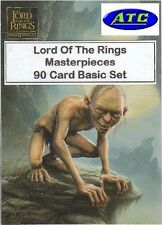 Lord Of The Rings LOTR Masterpieces 1 - 90 Card Basic/Base Set