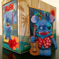 "DISNEY VINYLMATION 3"" HAWAII SERIES LILO & ""STITCH"" GUITAR 2013 TOY PARK FIGURE"