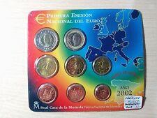 SERIE EUROS  AÑO 2002  ESPAÑA    ( MB10478 )