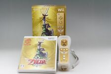 """"" Mint """"The Legend of Zelda Skyward Sword Gold Remote Bundle"