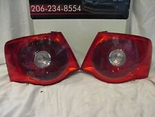 2005-2006-2007 VOLKSWAGEN JETTA DRIVERS/LEFT-PASSENGER/RIGHT SIDE TAILLIGHTS OEM