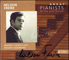 Nelson sn signed Great pianists of the 20th Century 2cd Chopin Brahms Mozart
