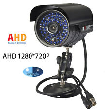 2000TVL HD 1.0MP 720P 48LED IR AHD BULLET CCTV Camera Waterproof Security 3.6mm