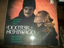 DOCTOR SCHIWAGO LP OST, MGM D 665060, Music by Maurice Jarre, TOP Zustand