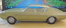 1969 OLDSMOBILE CUTLASS 442 BEAUTIFUL LIGHT GREEN DEALER PROMO IN THE BOX